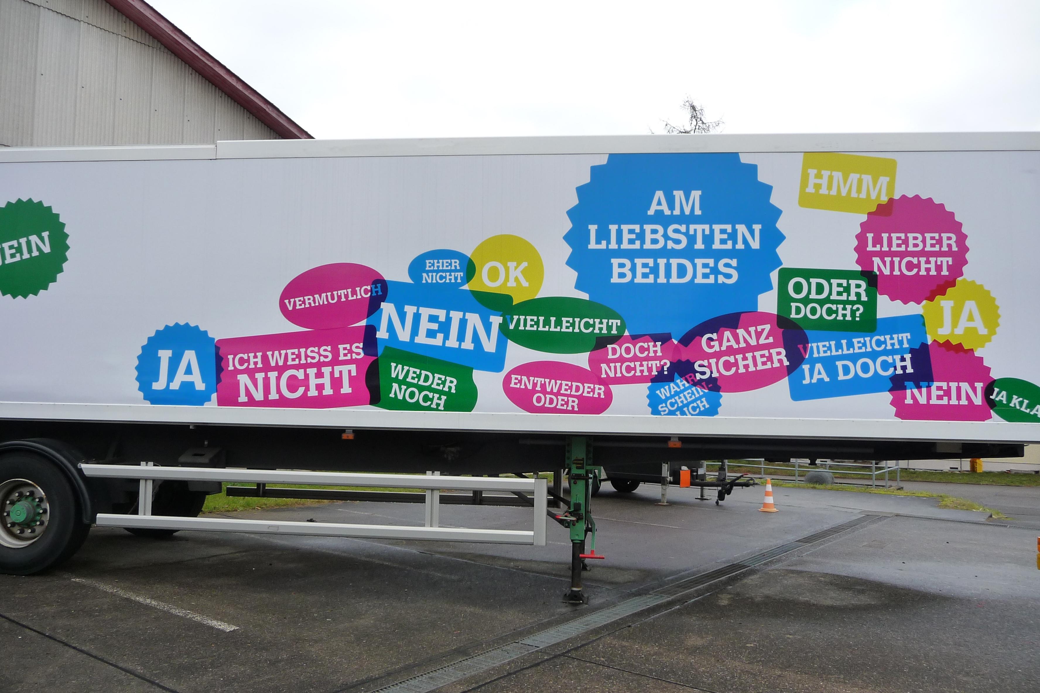 Ausstellung Stapferhaus Lenzburg 2013: Entscheiden. Im Supermarkt der Möglichkeiten