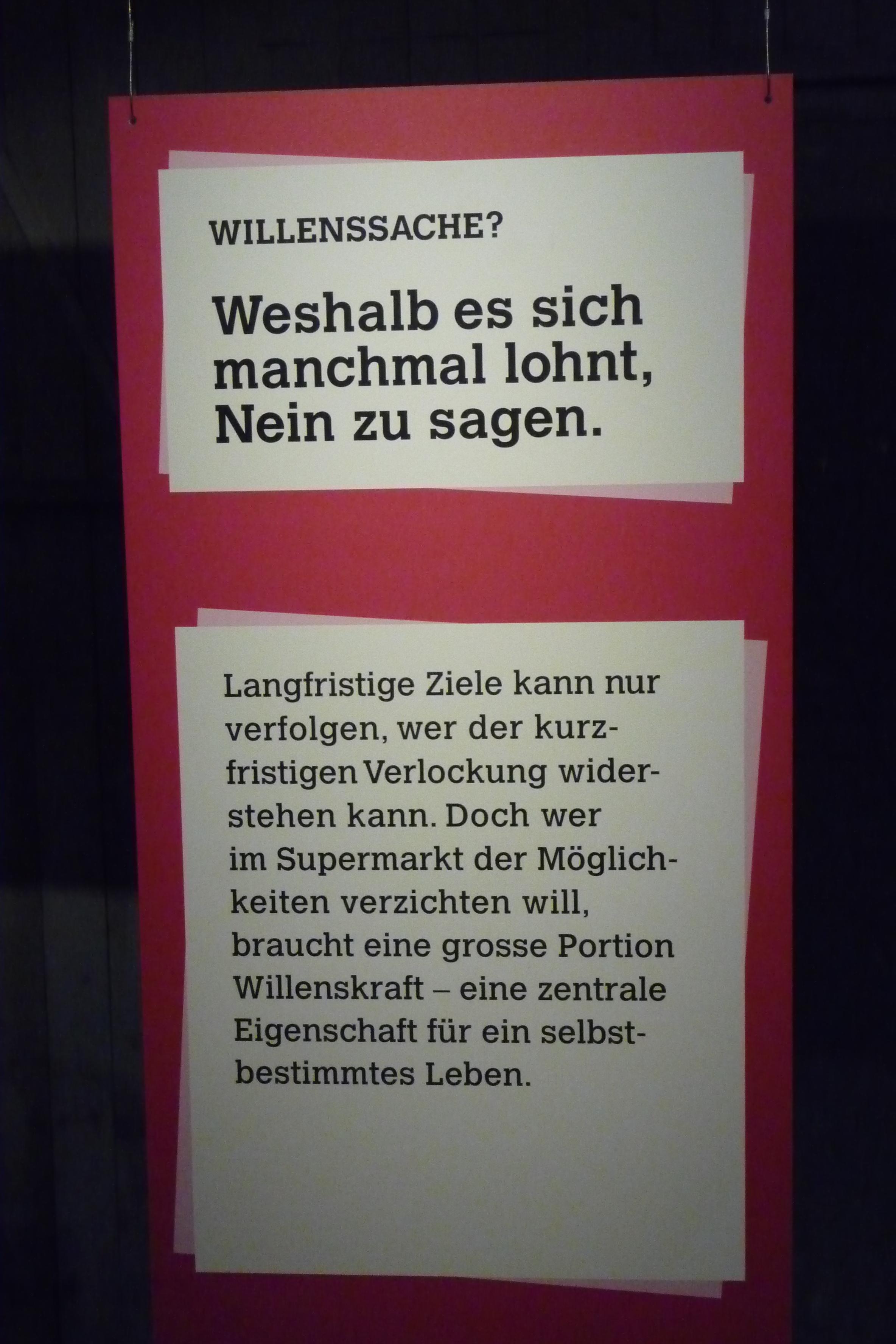 Entscheiden. Im Supermarkt der Möglichkeiten. Ausstellung Stapferhaus Lenzburg 2013.