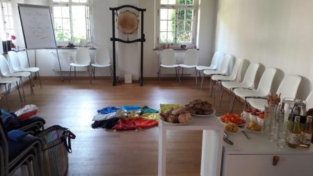Eröffnung Gaia-Akademie Schweiz am 4. Juni 2019 in der Trittligasse 16, Annex, in Zürich