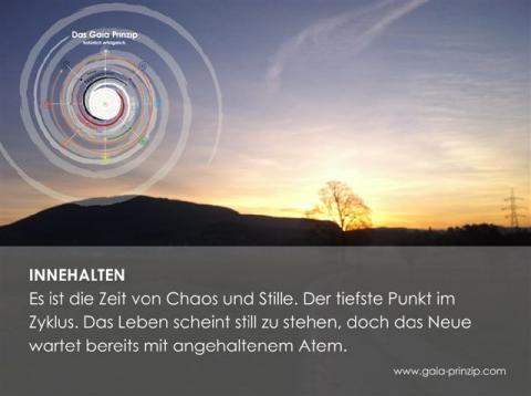 Gaia-Karte Innehalten, Gaia-Akademie
